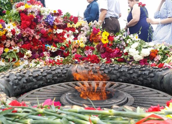 Праздник дня победы 9 мая в Одессе