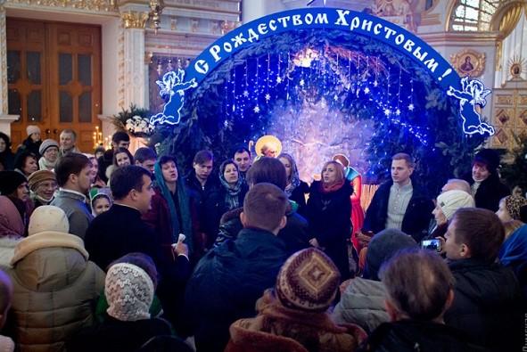праздник рождества в Одессе